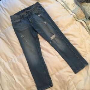 "Banana Republic ""Girlfriend"" jeans"